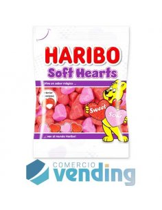 Haribo Soft Hearts 80g