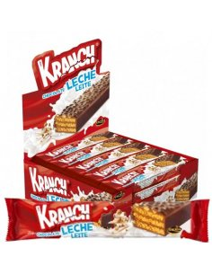 Kranch Chocolate Leche 20g