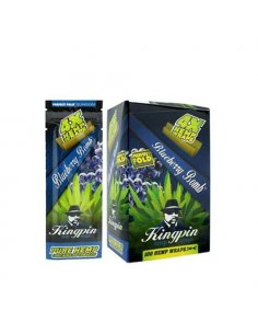Blunt KINGPIN Hemp Blue (x25)