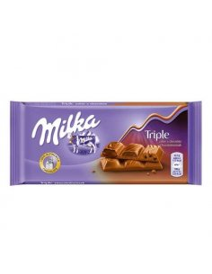 Milka Triple Chocolate 90g