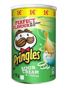 PRINGLES Onion Sour Cream...